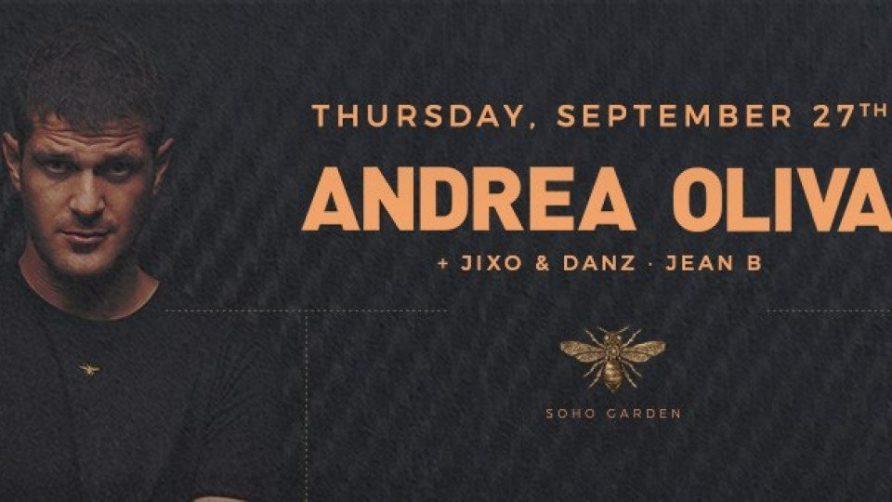 Andrea Oliva at Soho Garden - Coming Soon in UAE, comingsoon.ae