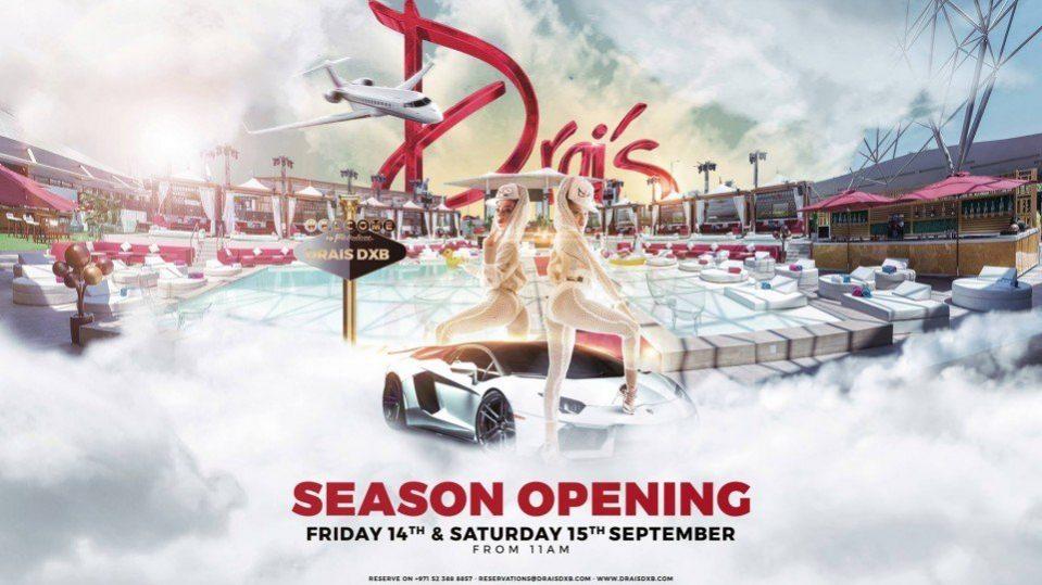 Opening of the season in Drai's DXB - Coming Soon in UAE, comingsoon.ae
