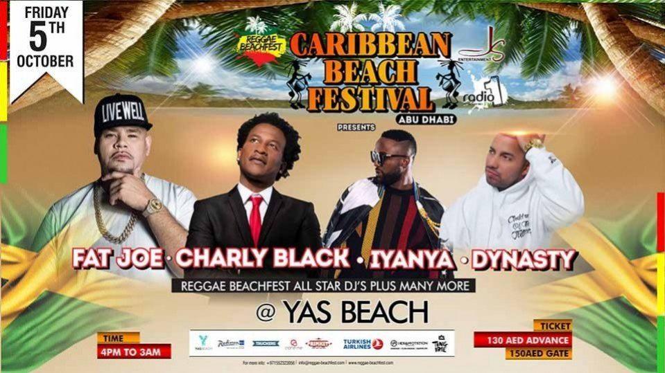 Caribbean Beach Festival - Coming Soon in UAE, comingsoon.ae