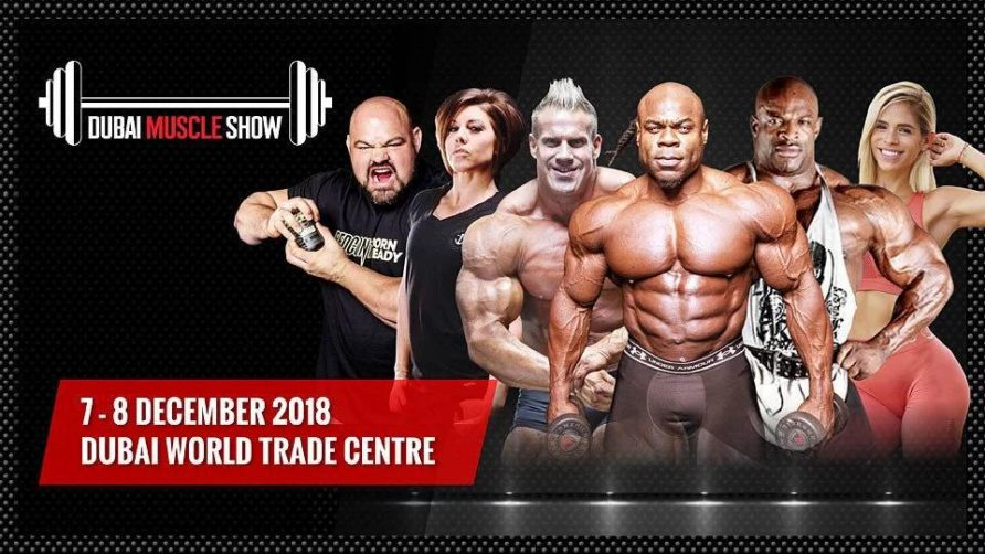 Dubai Muscle Show 2018 - Coming Soon in UAE, comingsoon.ae