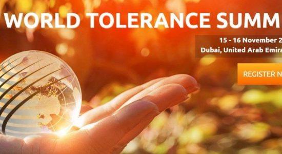 World Tolerance Summit 2018 - comingsoon.ae