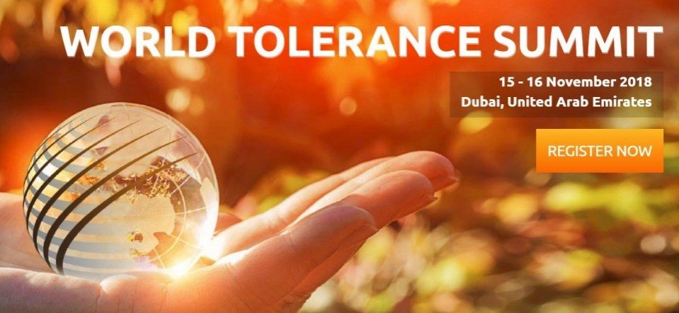 World Tolerance Summit 2018 - Coming Soon in UAE, comingsoon.ae