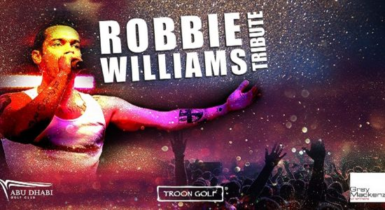 Robbie Williams Tribute - comingsoon.ae