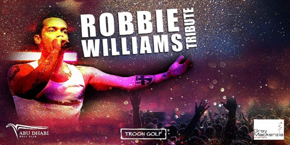 Robbie Williams Tribute - Coming Soon in UAE, comingsoon.ae