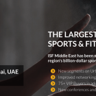 International Sports and Fitness Middle East 2019 at InterContinental Dubai Festival City in Dubai