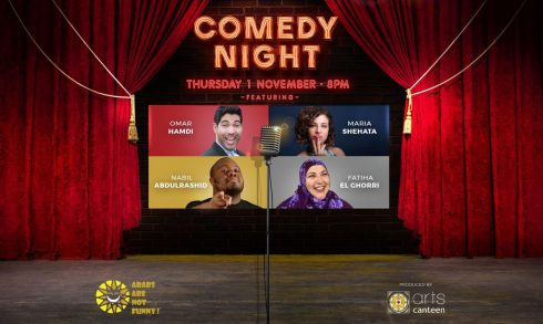 Arabs are not funny – Comedy Night - Coming Soon in UAE, comingsoon.ae