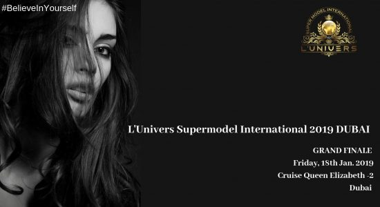 L'univers Super Model International 2019 Dubai - comingsoon.ae
