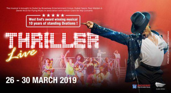 Dubai Opera presents Thriller Live - comingsoon.ae