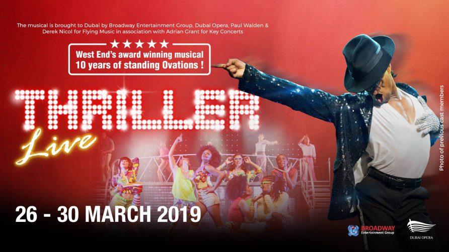 Dubai Opera presents Thriller Live - Coming Soon in UAE, comingsoon.ae