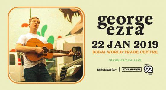 George Ezra Live at DWTC - comingsoon.ae