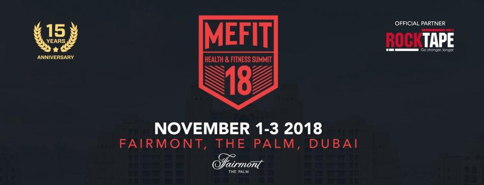 MEFIT Health and Fitness Summit 2018 - Coming Soon in UAE, comingsoon.ae