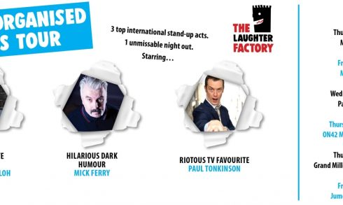 The Laughter Factory presents The Disorganised Chaos Tour - Coming Soon in UAE, comingsoon.ae