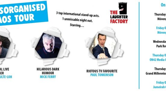 The Laughter Factory presents The Disorganised Chaos Tour - comingsoon.ae