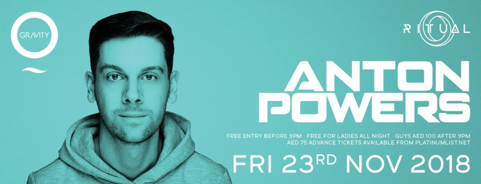 Ritual with Anton Powers - Coming Soon in UAE, comingsoon.ae