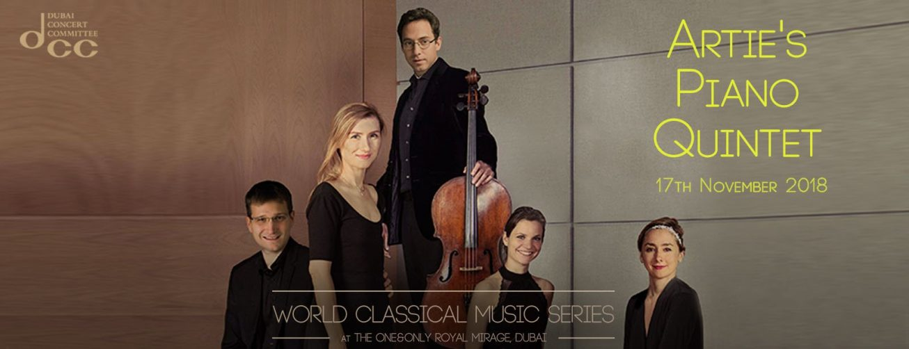 Artie's Piano Quintet at the World Classical Music Series - Coming Soon in UAE, comingsoon.ae