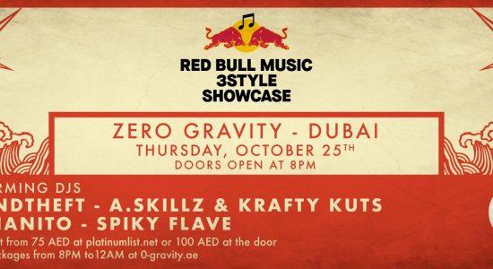 Zero Gravity – Red Bull Music 3style Showcase - comingsoon.ae