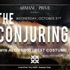 Armani/Prive presents Halloween Party at Armani Hotel, Dubai in Dubai