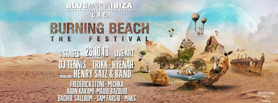 Burning Beach Festival – Blue Marlin Ibiza UAE - Coming Soon in UAE, comingsoon.ae