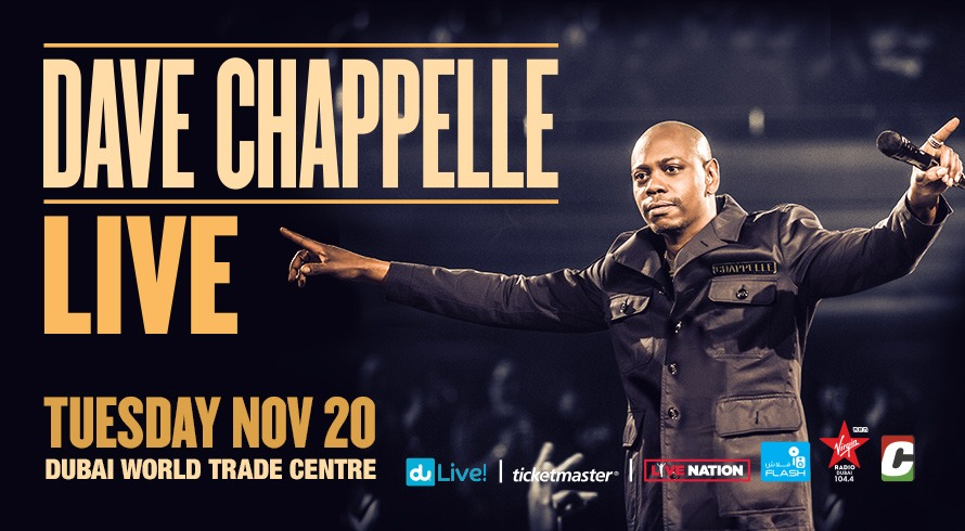 Dave Chappelle Live! - Coming Soon in UAE, comingsoon.ae