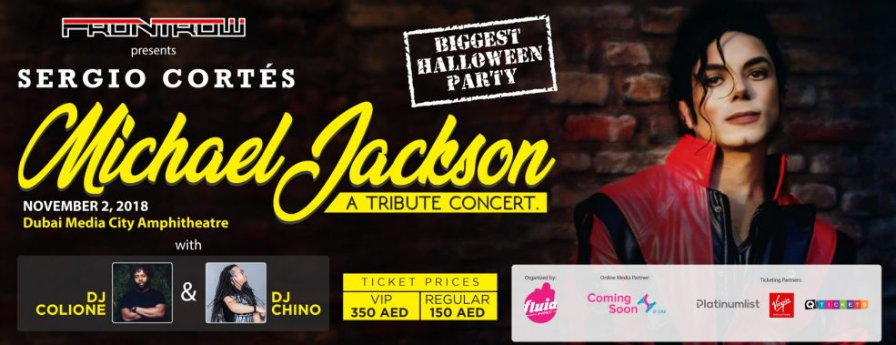 Michael Jackson: A Tribute Concert by Sergio Cortés - Coming Soon in UAE, comingsoon.ae