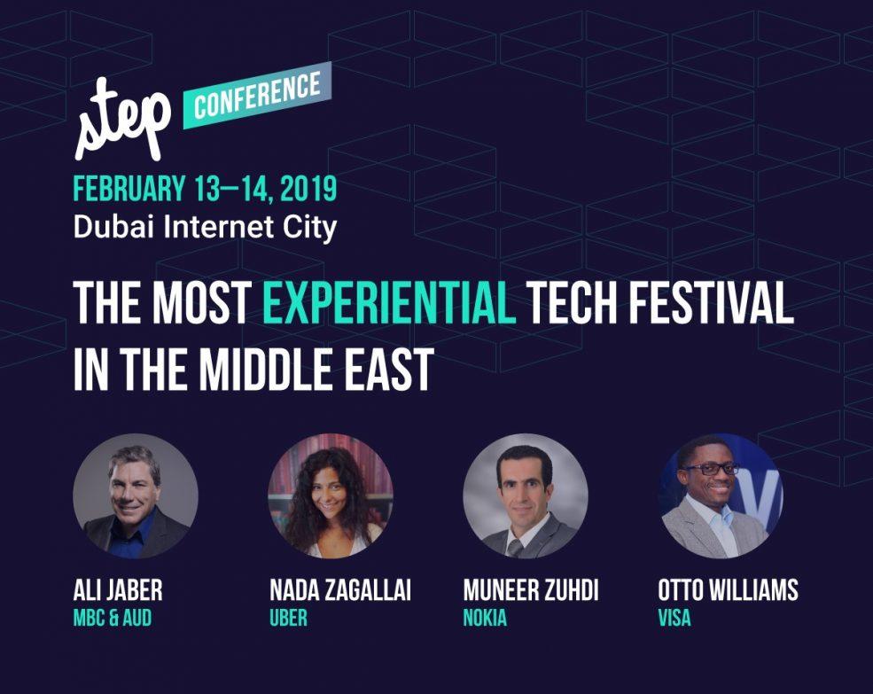 STEP 2019 tech festival - Coming Soon in UAE, comingsoon.ae