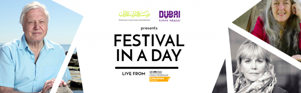 Festival in a Day – literary issues with David Attenborough - Coming Soon in UAE, comingsoon.ae