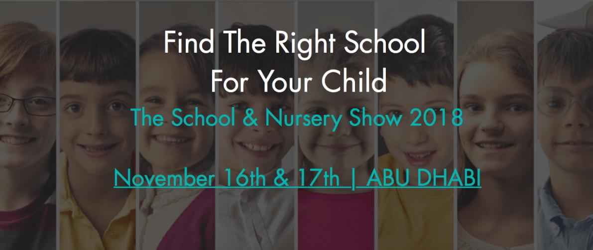 School and Nursery Show 2018 - Coming Soon in UAE, comingsoon.ae