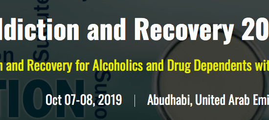 Addiction, Alcoholism, Drug-Substance Abuse, Psychiatry and Recovery Summit 2019 - comingsoon.ae