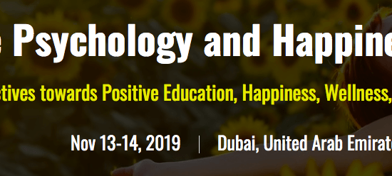 Positive Psychology, Happiness, Mindfulness and Wellness Summit 2019 - comingsoon.ae