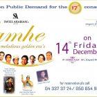 LAMHE – Melodious Golden Era's musical concert at Crowne Plaza, Dubai in Dubai