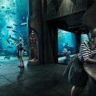 The Haunted Chambers at The Lost Chambers Aquarium at Atlantis The Palm, Dubai in Dubai