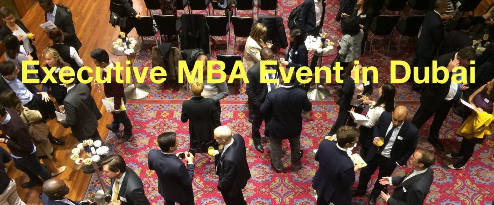 Top Executive MBA Event - Coming Soon in UAE, comingsoon.ae
