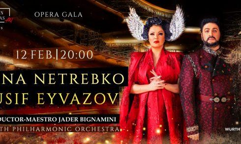 Anna Netrebko and Yusif Eyvazov Opera Gala - Coming Soon in UAE, comingsoon.ae