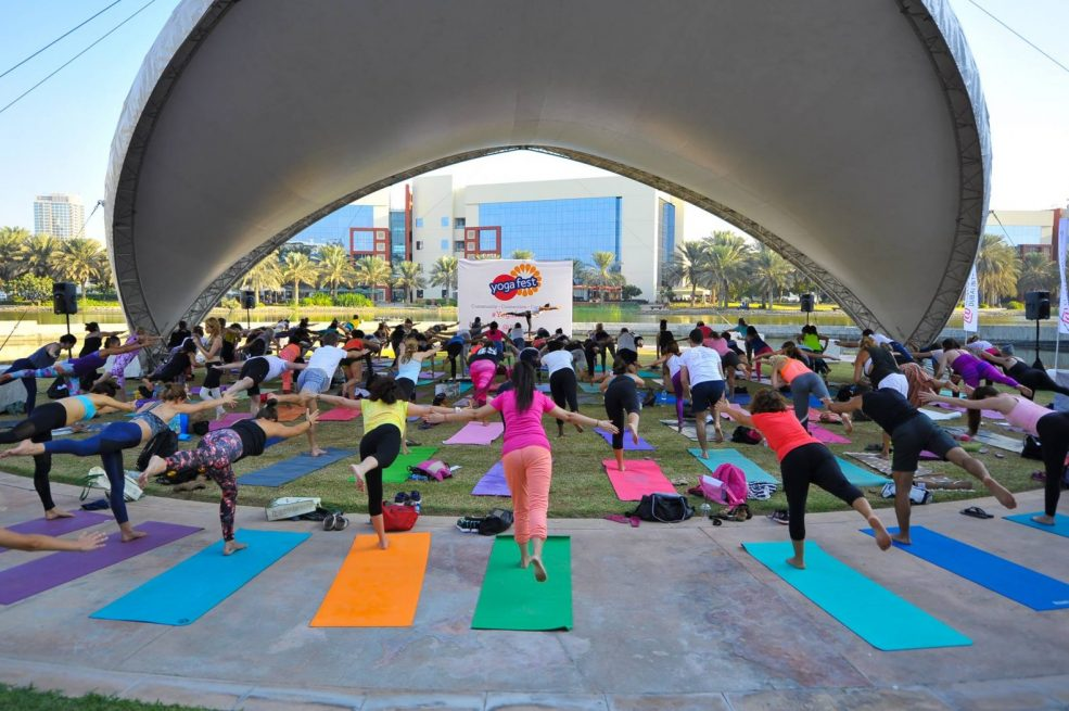 Yogafest Dubai 2018 - Coming Soon in UAE, comingsoon.ae