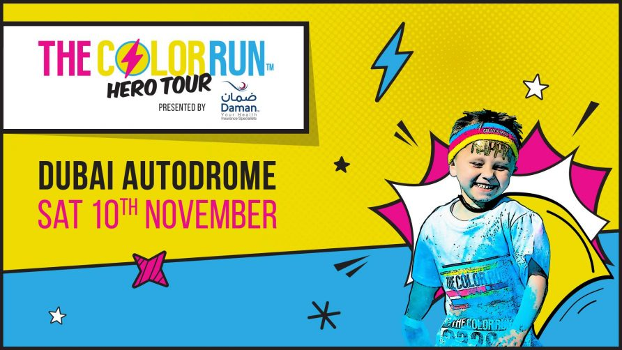 The Color Run Hero Tour 2018 - Coming Soon in UAE, comingsoon.ae