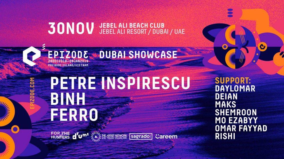 Epizode³ Festival – Dubai Showcase - Coming Soon in UAE, comingsoon.ae