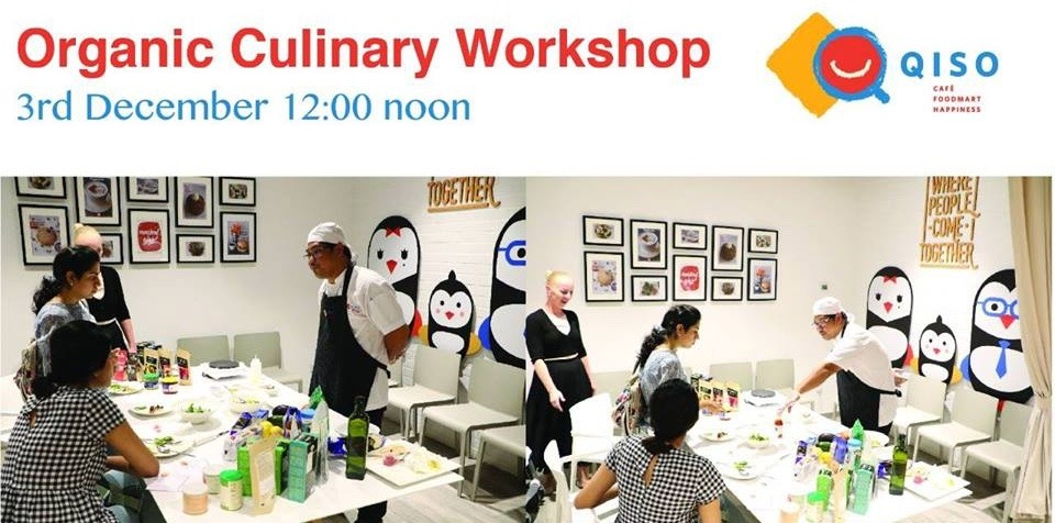 Organic Culinary workshop at Qiso Cafe - Coming Soon in UAE, comingsoon.ae