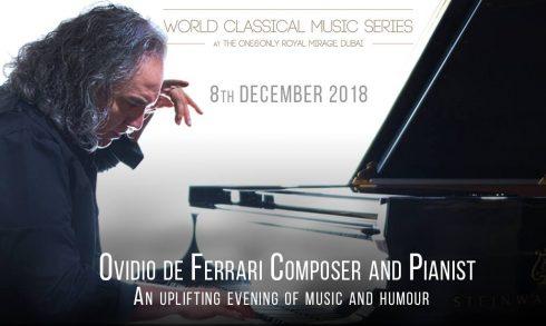 World Classical Music Series: Ovidio De Ferrari - Coming Soon in UAE, comingsoon.ae