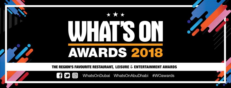 What`s On Awards 2018 - Coming Soon in UAE, comingsoon.ae