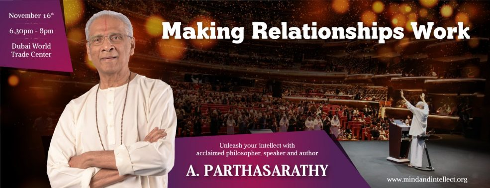 Making Relationship work – A. Parthasarathy - Coming Soon in UAE, comingsoon.ae