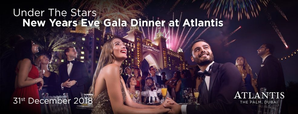 New Year's Eve Royal Gala 2018 at Atlantis The Palm - Coming Soon in UAE, comingsoon.ae