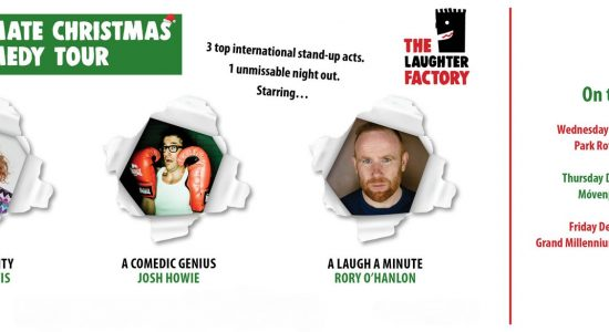 The Laughter Factory: The Ultimate Christmas Comedy Tour - comingsoon.ae