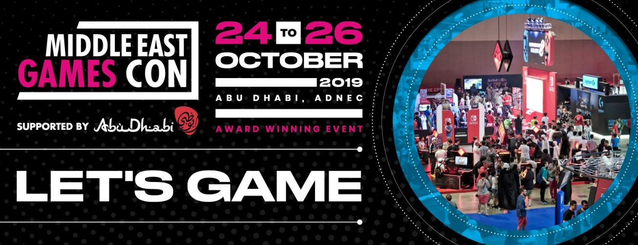 Middle East Games Con 2019 - Coming Soon in UAE, comingsoon.ae