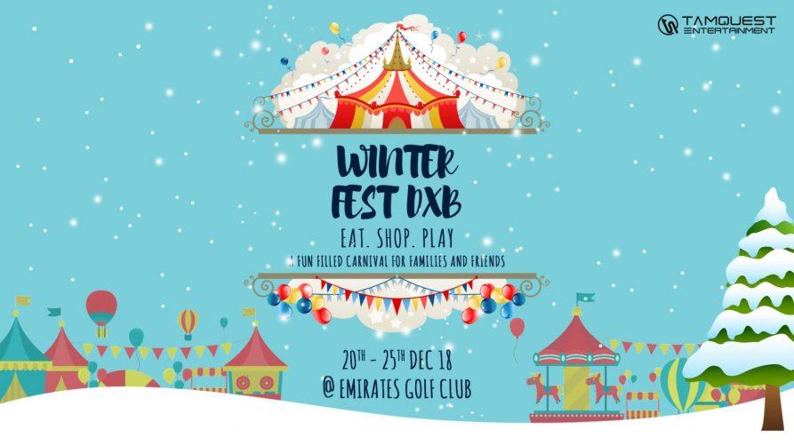 Winter Fest Dxb 2018 - Coming Soon in UAE, comingsoon.ae