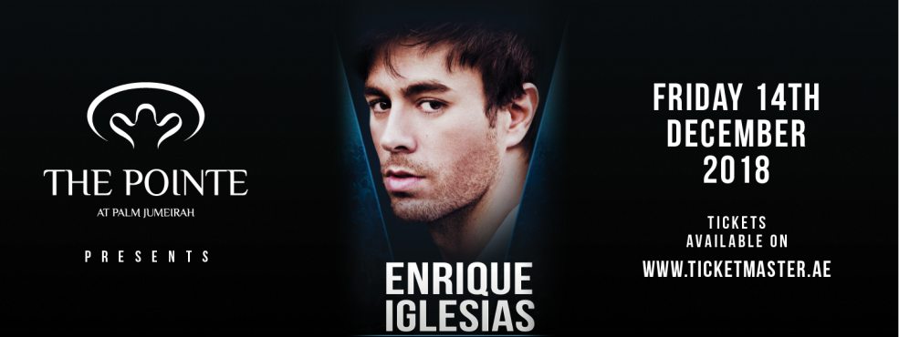 Enrique Iglesias Live in Concert - Coming Soon in UAE, comingsoon.ae