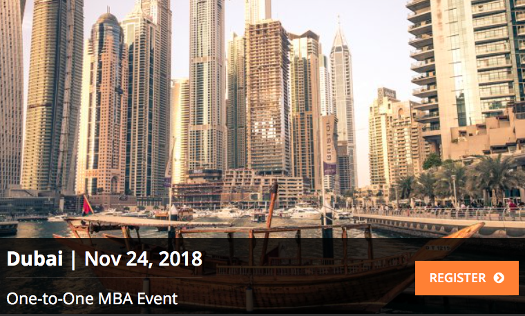 One-to-One MBA Event - Coming Soon in UAE, comingsoon.ae