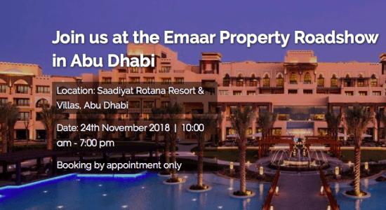 Emaar Property Show in Abu Dhabi - comingsoon.ae