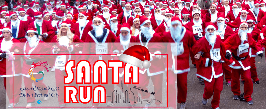 The Dubai Festival City Santa Run - Coming Soon in UAE, comingsoon.ae