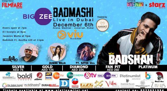 Badmashi By Badshah Live Concert - comingsoon.ae