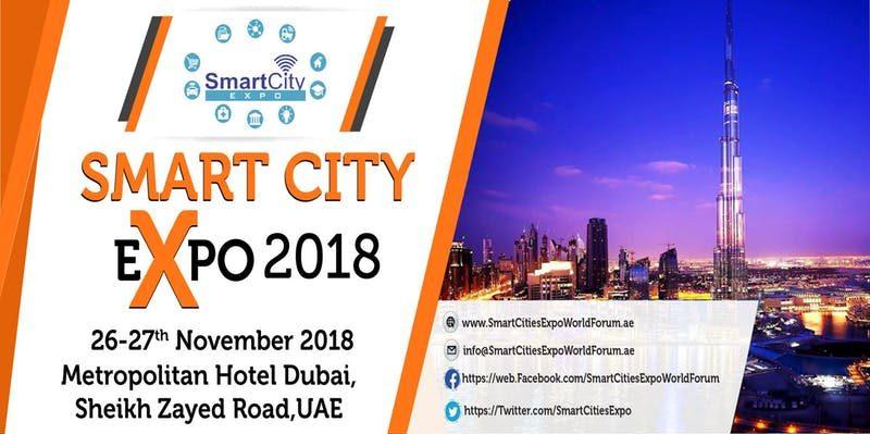 Smart City Expo 2018 - Coming Soon in UAE, comingsoon.ae